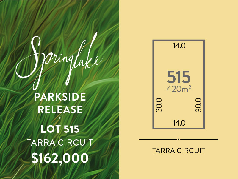 Lot 515, Tarra Circuit, Mount Barker, SA 5251