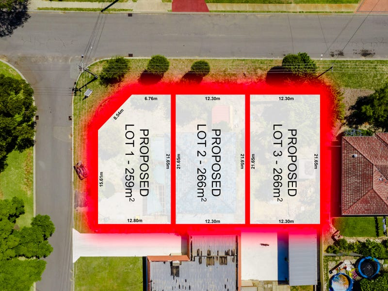 Proposed Lots 1, 2 & 3/1 Wykes Court, Wanneroo, WA 6065