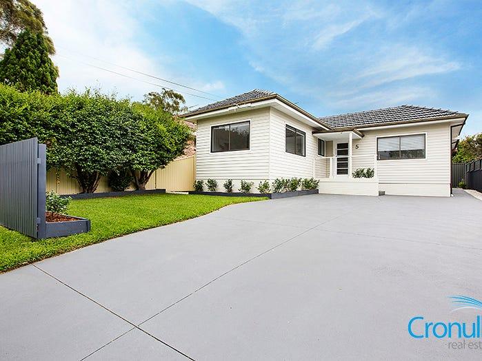 5 Chamberlain Ave, Caringbah, NSW 2229