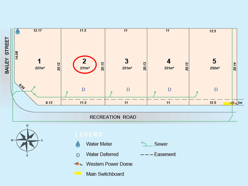Lot 2, Recreation Road, Hamilton Hill, WA 6163