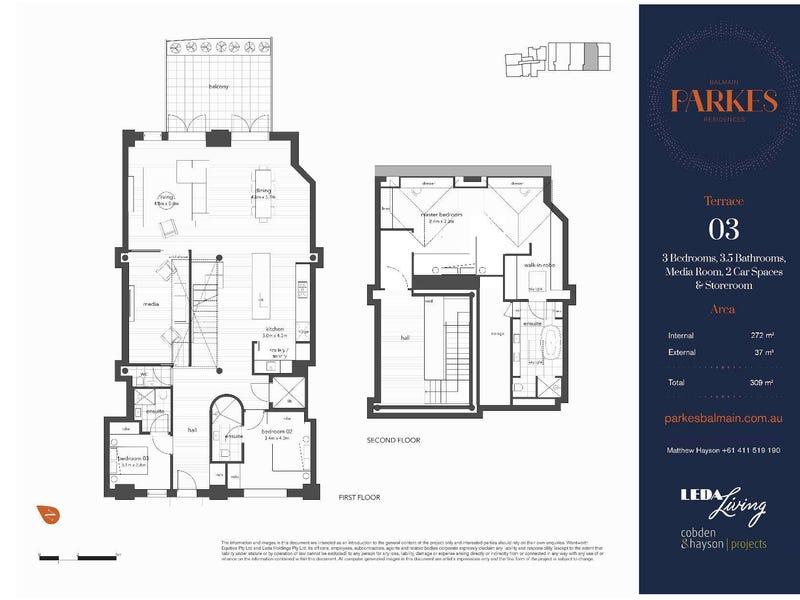 3/100 Reynolds Street, Balmain, NSW 2041 - floorplan
