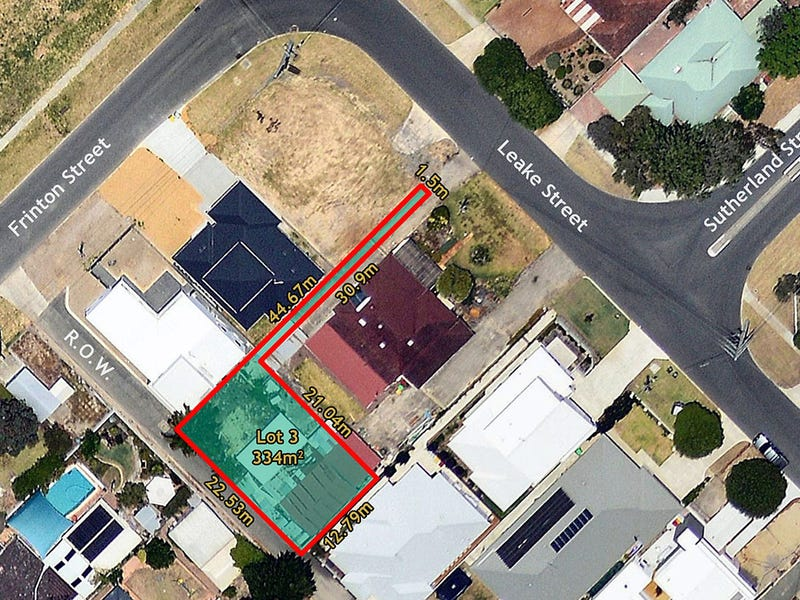 Lot 3 - 116 Leake Street, Bayswater, WA 6053