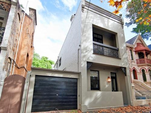 137 Paddington Street Paddington Nsw 2021 Duplexsemi - A-lovely-grey-house-in-paddington-sydney