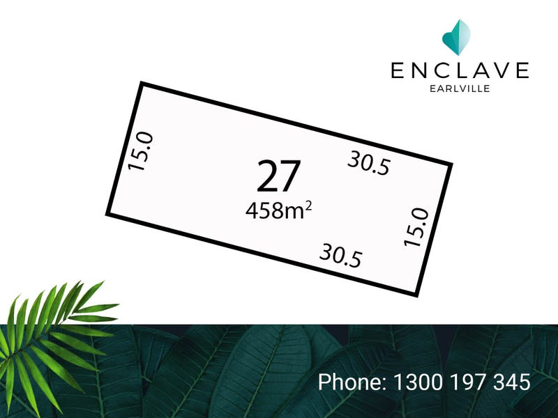 Lot 27, Jacamunda Circuit, Cairns City, Qld 4870