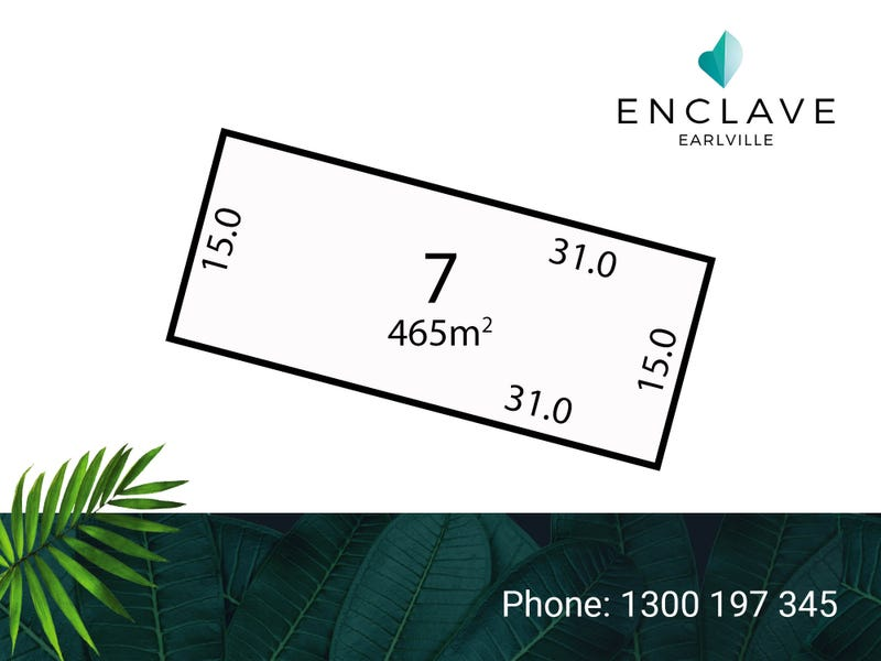 Lot 7, Enclave Bend, Cairns City, Qld 4870