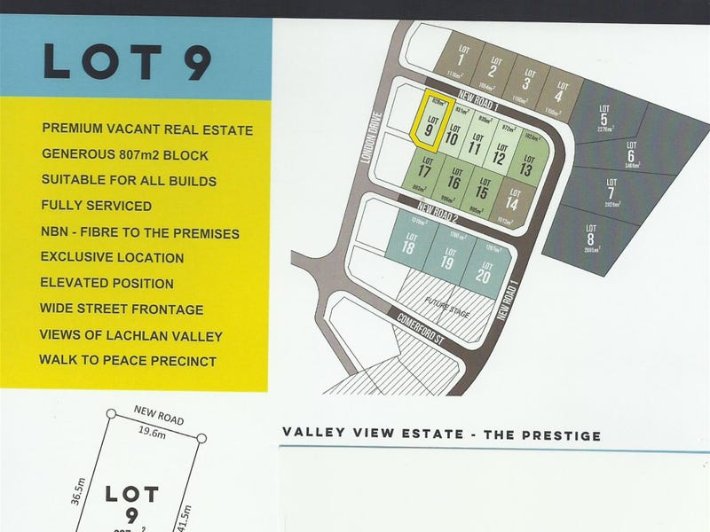LOT 9 VALLEY VIEW ESTATE, Cowra, NSW 2794