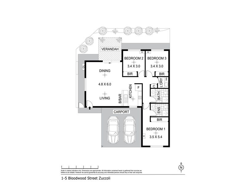 1, 7 & 10/5 Bloodwood Street, Zuccoli, NT 0832 - floorplan