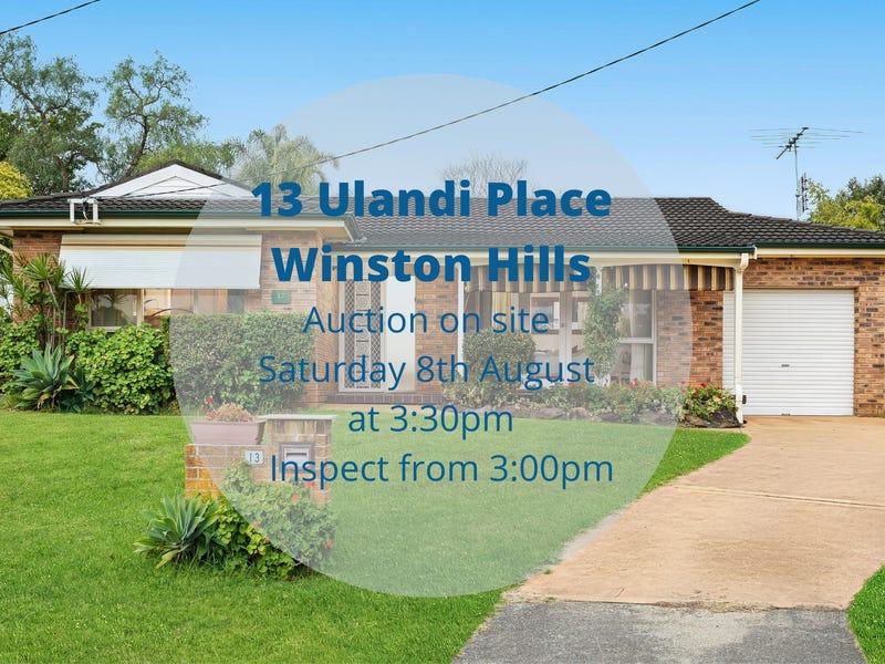 13 Ulandi Place, Winston Hills, NSW 2153