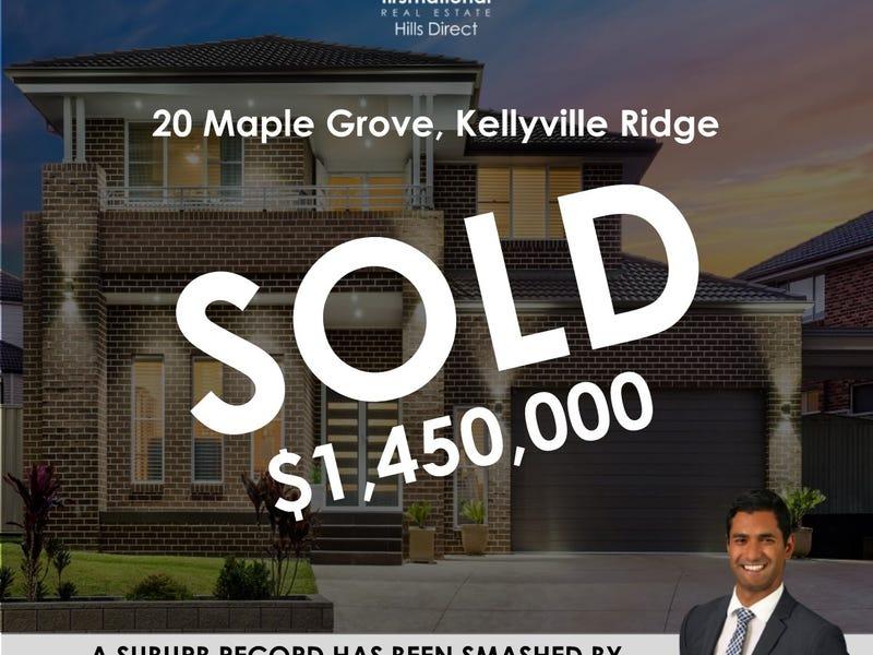 20 Maple Grove, Kellyville Ridge, NSW 2155