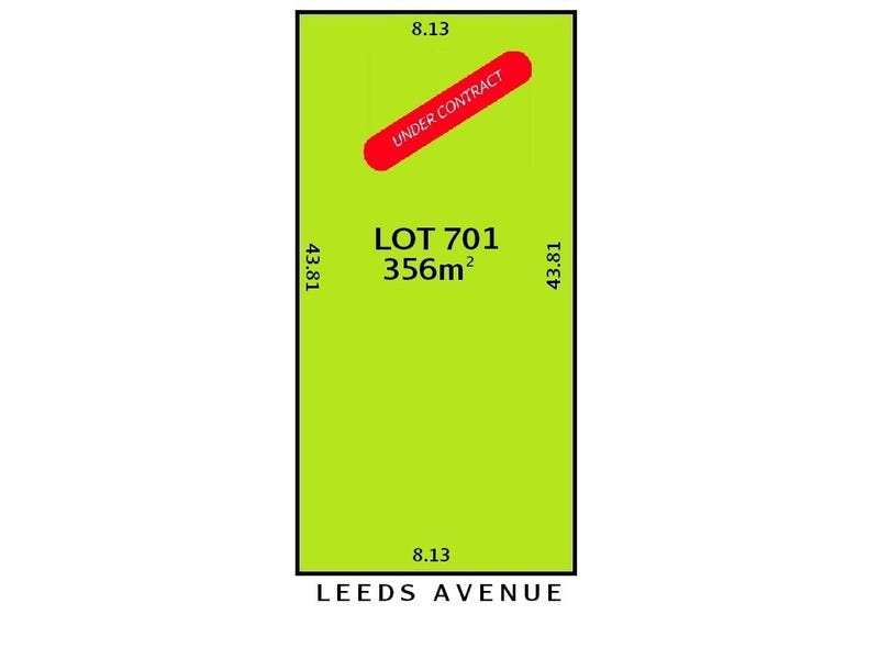 Lot 701, 34 Leeds Avenue, Northfield, SA 5085