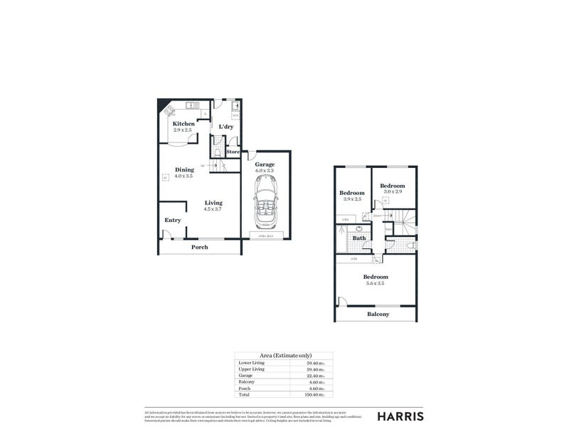 8/14 Jacob Street, Marion, SA 5043 - floorplan