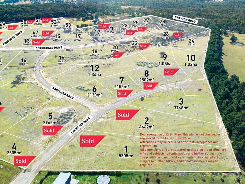 Lot 1-53 Betley Park Estate, Corriedale Road, Marulan, NSW 2579