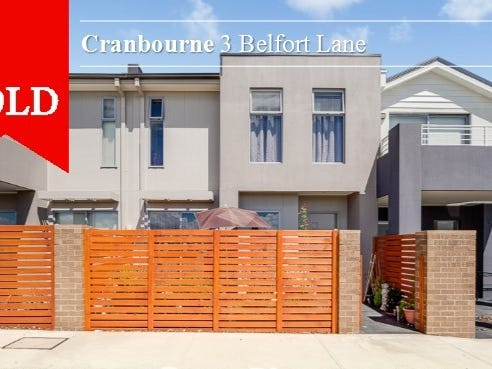 3 Belfort Lane, Cranbourne, Vic 3977
