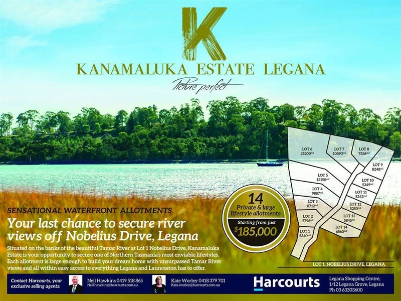 Lot.14 Kanamaluka Estate, Legana, Tas 7277