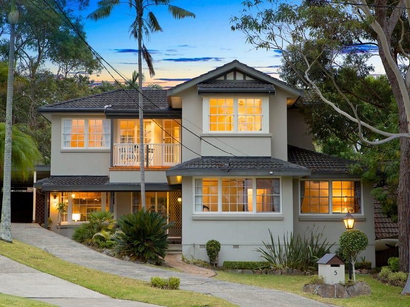 5 Cudal Close, Terrey Hills, NSW 2084