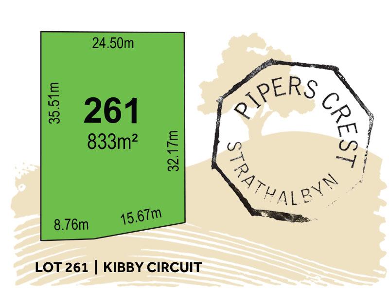 Lot 261, Kibby Circuit, Strathalbyn, SA 5255
