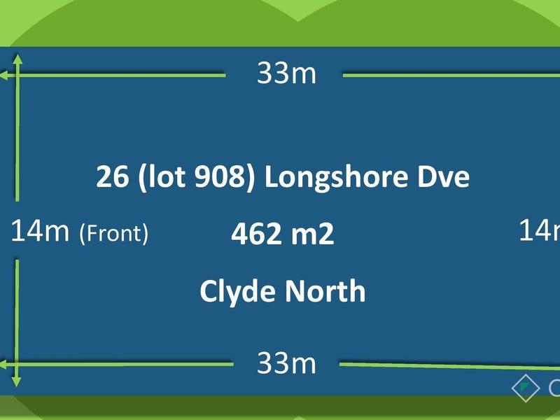 Lot 908, 26 Longshore Drive, Clyde North, Vic 3978