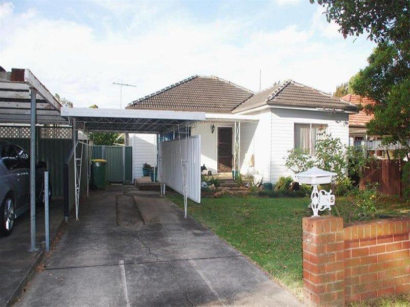 5 Neilson Street, Granville, NSW 2142