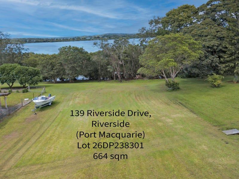139  Riverside Drive, Port Macquarie, NSW 2444
