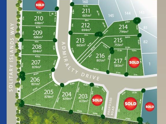 Lot 201 Admiralty Drive - Stage 11, Safety Beach, NSW 2456