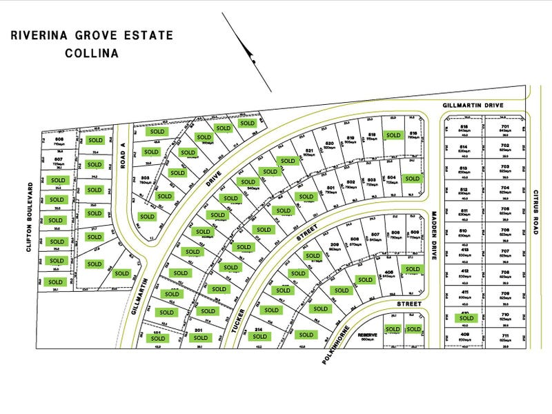 Lot 303 Riverina Grove Estate, Clifton Boulevard, Griffith, NSW 2680