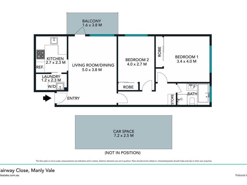 5/4 Fairway Close, Manly Vale, NSW 2093 - floorplan