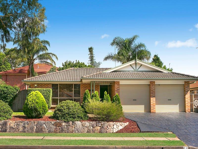 12 Majestic Drive, Stanhope Gardens, NSW 2768