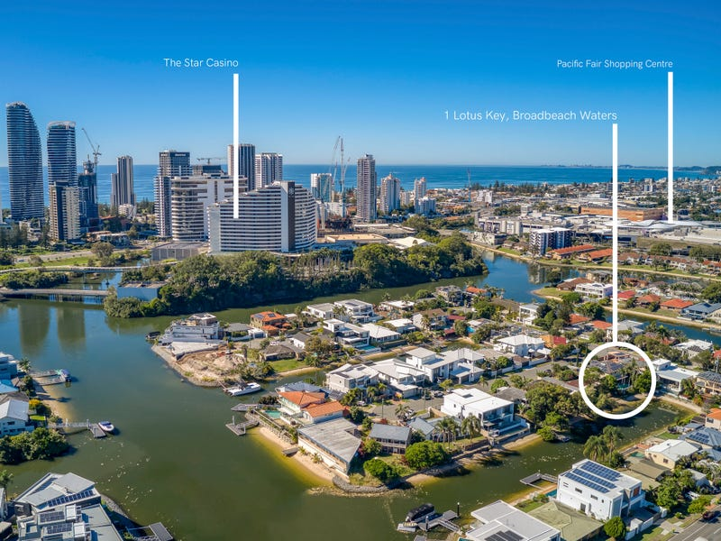 1 Lotus Key, Broadbeach Waters, Qld 4218