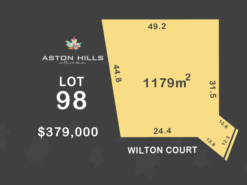 Lot 98, Wilton Court (Aston Hills), Mount Barker, SA 5251