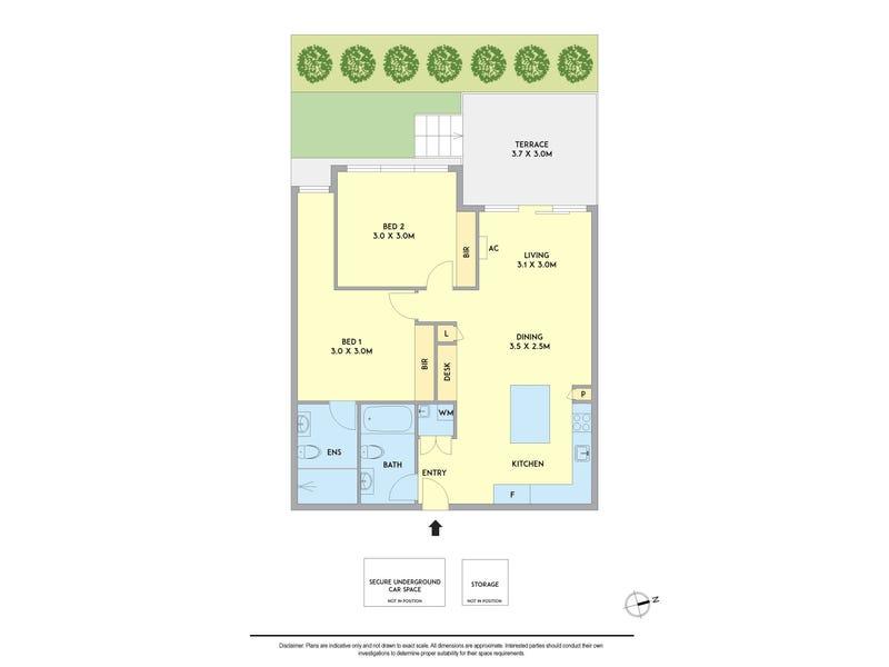 G03/307 Barkers Road, Kew, Vic 3101 - floorplan