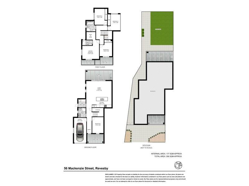 56 Mackenzie Street, Revesby, NSW 2212 - floorplan