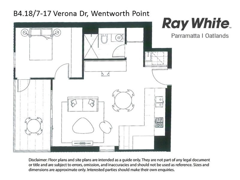 B4.18/7-17 Verona Drive, Wentworth Point, NSW 2127