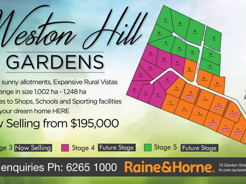 Lot 9 Weston Hill Gardens (off Weston Hill Road), Sorell, Tas 7172