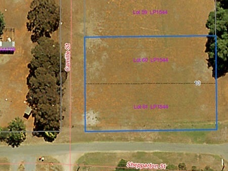 Lot 60 & 61 Baldock Street, Dookie, Vic 3646