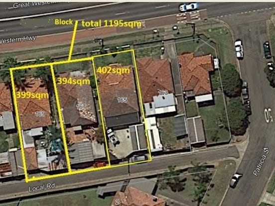 165-167-169 great western highway, Mays Hill, NSW 2145