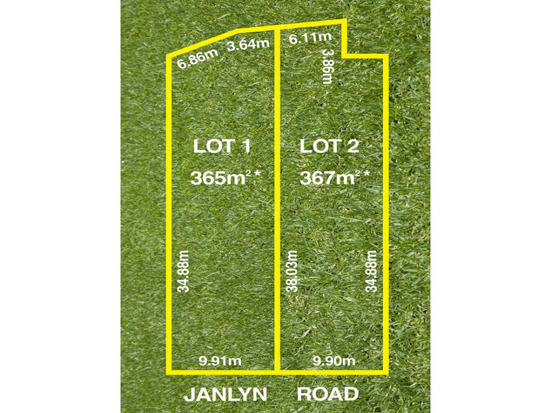 Lot 1 or 2, 46 Janlyn Road, Vista, SA 5091