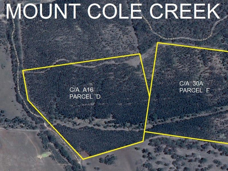 C/A 30A PARCEL F IRON POT CREEK ROAD (Mt Cole), Mount Cole Creek, Vic 3377