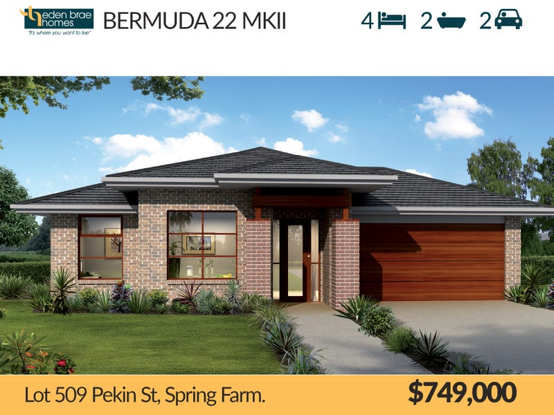 Lot 509 Pekin St, Spring Farm, NSW 2570