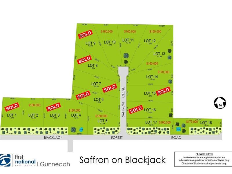 Lot 2,4,5,10,11,12,13, 14,15,17,18 Saffron Estate, Gunnedah, NSW 2380