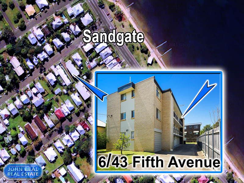 Unit 6/43 Fifth Avenue, Sandgate, Qld 4017