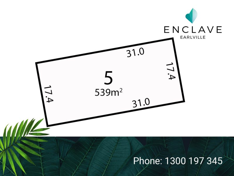 Lot 5, Enclave Bend, Cairns City, Qld 4870