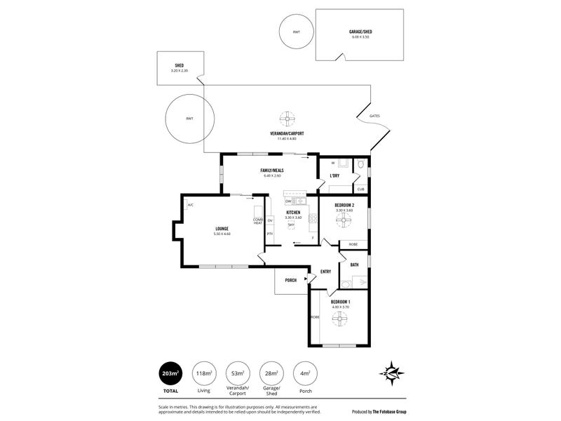 1 Sophia Street, Echunga, SA 5153 - floorplan