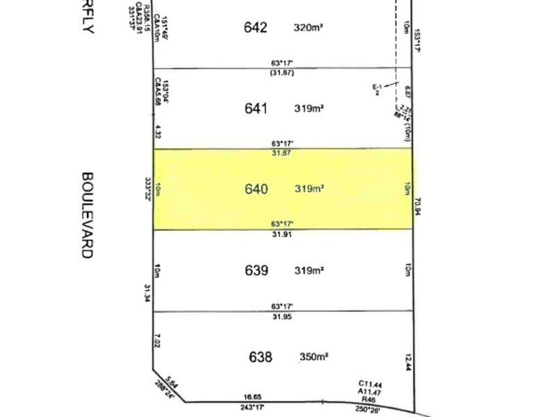 Lot 640 Butterfly Boulevard Tarneit Vic 3029 Property