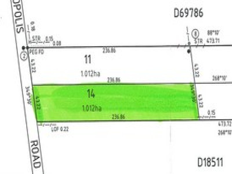 Lot 14, Lot 14 Acropolis Road, Nelshaby, SA 5540