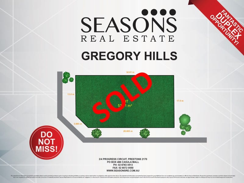 null, Gregory Hills