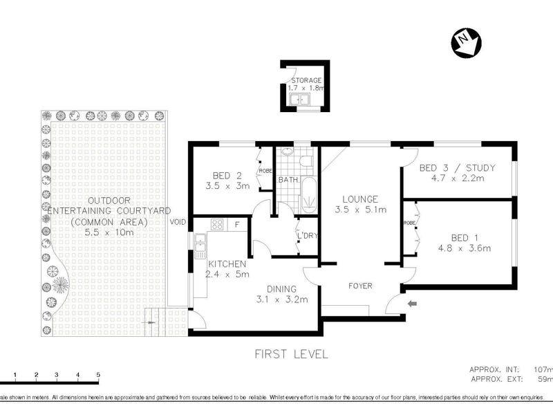4/21 Mosman Street, Mosman, NSW 2088 - floorplan