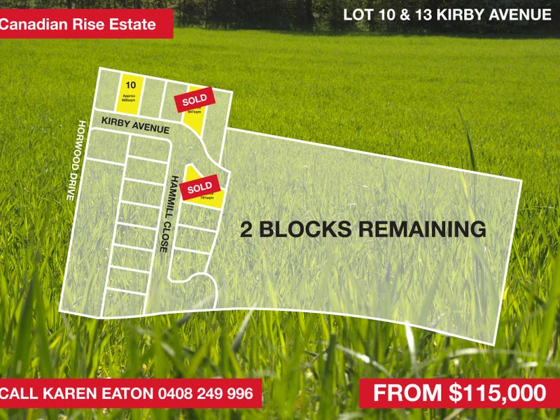Lot 10, Kirby Ave, Canadian