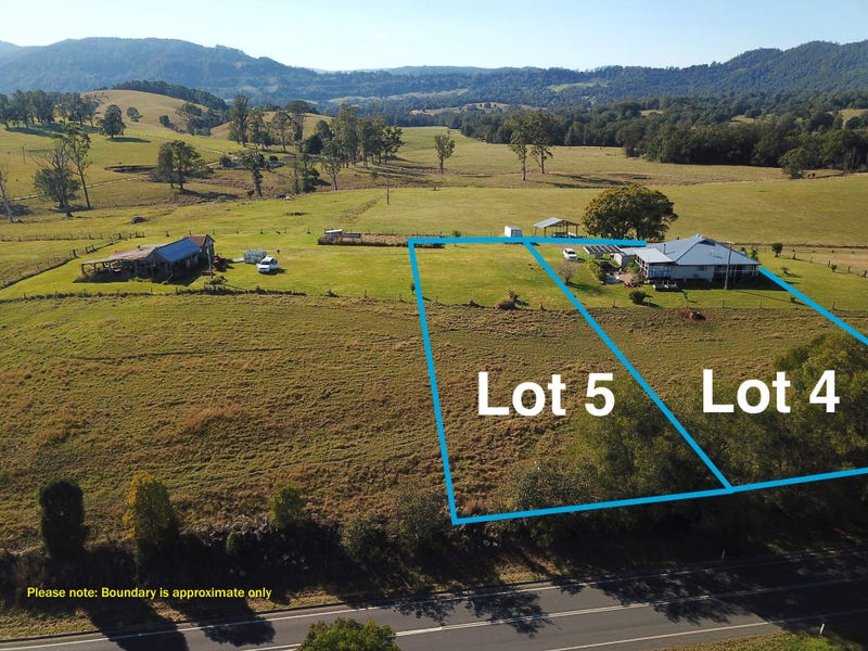 Lot 5, 4 Blue Knob Rd, Nimbin, NSW 2480