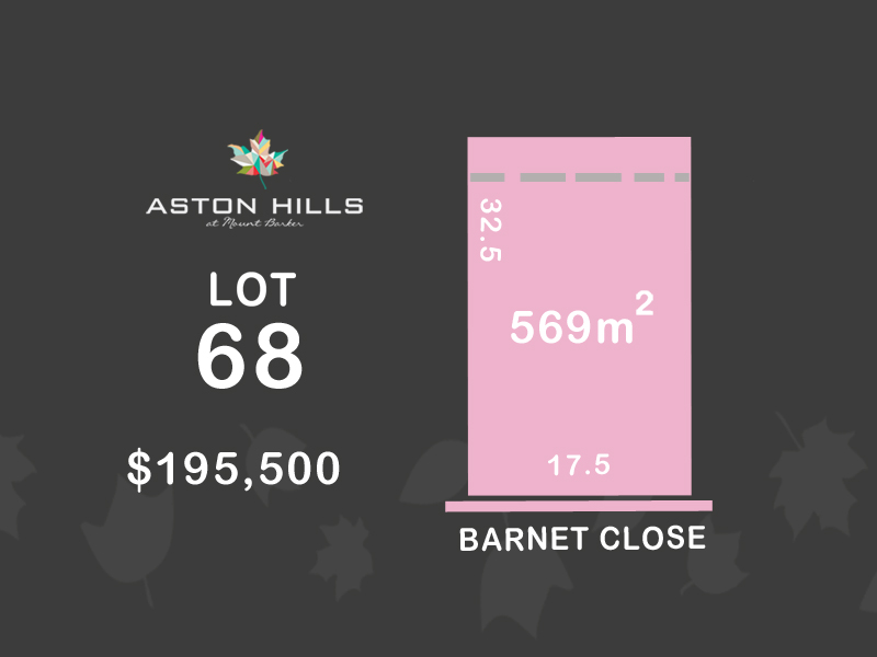 Lot 68, Barnet Close (Aston Hills), Mount Barker, SA 5251