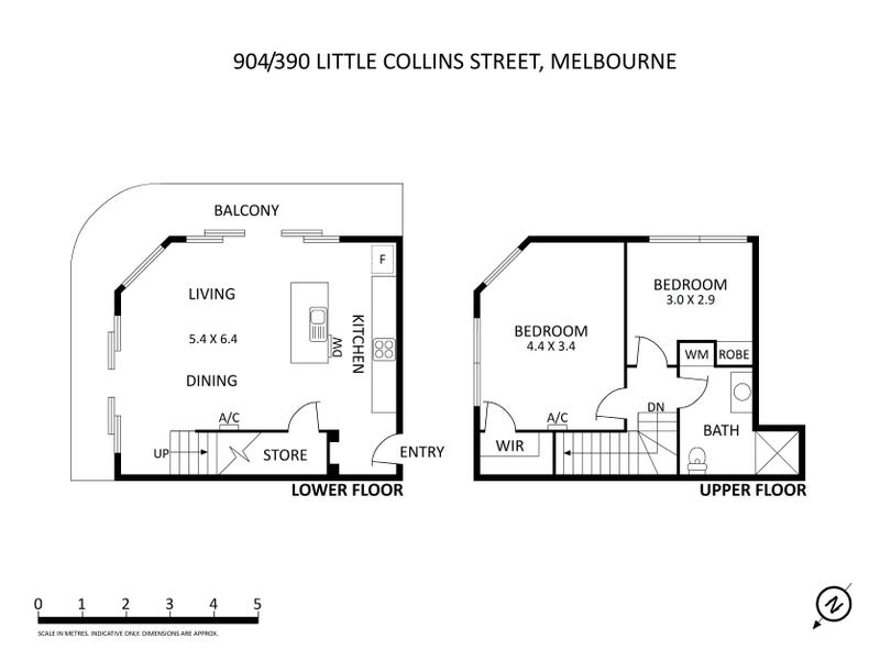 904/390 Little Collins Street, Melbourne, Vic 3000 - floorplan